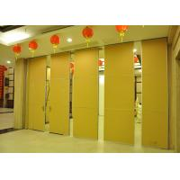 Multi-Function Hall Movable Partition ,  Acoustic Room Divider , Aluminium Frame Manufactures