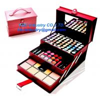 China 2014 TRIPLE LAYER MAKEUP PALETTE IN CASE on sale