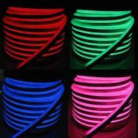 China Multi Color RGB LED Neon Flex Light Waterproof PVC Housing Material on sale