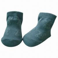 Baby Socks, Made of Cotton, Bamboo, Polyester and Spandex Manufactures