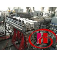 Water Proof  PVC Foam Board Extrusion Line For Producing Fence / Railing Manufactures