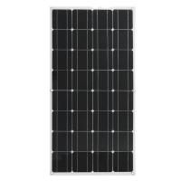 Mono 100 Watt Solar Panel , Polycrystalline RV Flexible solar panels PV Solar Panel For Home Use / Roof Cart Manufactures