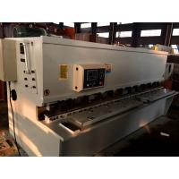 6 mm Thickness Hydraulic CNC Shearing Machine For Q235 Steel Plates Manufactures