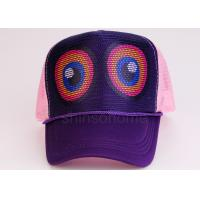Multi Color Sports Surf Trucker Hats 5 Panels Printed Logo For Summer Manufactures