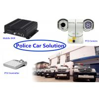 Real Time 3G GPS mobile dvr recorder PTZ Vehicle Security Camera System for Police Car Manufactures