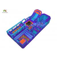 China 30*15*6 m Giant Inflatable Outdoor Sport Games Obstacle Course Equipment For Adults on sale