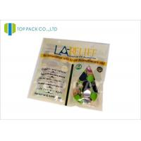 Moisture Proof Plastic Fish Lure Ziplock Bags Glossy Clear Window Manufactures