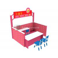 Role Play Center--Kids Indoor Playground Equipment--FF-Hamberger Shop Manufactures