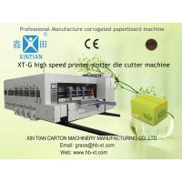 High-Speed Corrugated Box Printing Machine With Slotting Equipment Manufactures