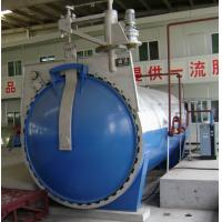 Automatic Glass Industrial Autoclave with hydraulic pressure opening door Manufactures