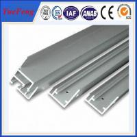 Hot! International standard 6063-t5 anodized aluminum profile extrusion for solar panel Manufactures