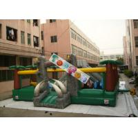 Amazing Aiant Kids Inflatable Amusement Park / Inflatable Adventure For Rent Manufactures