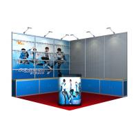 10 x10 Exhibition Booth Display , Portable Trade Show Booths For Craft Shop Manufactures