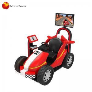 China Movie Power Children Amusement 9d Virtual Reality Racing Game Machine on sale