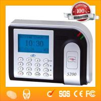 TCP/IP ZK Software ID Card Reader Time Attendance(HF-S200) Manufactures