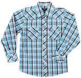 Trendy kids clothing soft cotton yarn dyed check boy shirt, kids plaid shirts Manufactures