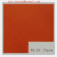 China Customized Polyester PET Spunbond Nonwoven Fabrics for Coveralls on sale