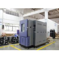 Constant Temperature Humidity Chamber Cabinet 1000L Big Display Touch Screen Manufactures