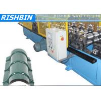 Ridge Cap Roof Panel Flashing Metal Sheet Roll Forming Machine with G550 Yield Strength Manufactures