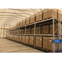 Flexible Aisle Saving Mobile Racking Storage Systems Q235 Steel Material Manufactures