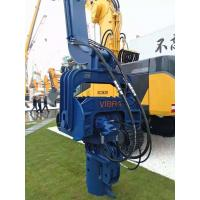 Highly Efficient Hydraulic Pile Driver , Vibratory Hammer Pile Driver 3200RPM Manufactures