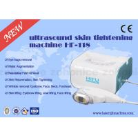 Vertical 800W Ultrasonic 3D HIFU Machine 3MHZ Frequency For Face Lifting Manufactures