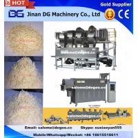 Buy cheap Automatic twin screw extruded flattened rice flake making machine manufacturer equipment from wholesalers