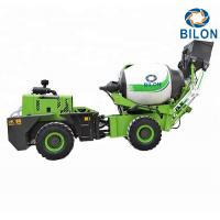 China 1.5 CBM Self Loading Mobile Concrete Mixer Machine Charging Capacity 2300L on sale