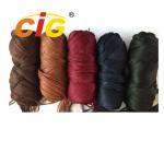 100% Acrylic Yarn Garments Accessories for Fake Human Hair 56n/2 Manufactures