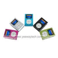 China 4GB Fashion Deisgn OLED MP3 Player With FM Function /5 Colors Available on sale