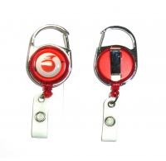 Fashion Durable Retractable Badge Reels Free Artwork Under Customer Logo Manufactures