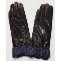 Lady′s Fashion Leather Gloves with Fur (CF2569) Manufactures