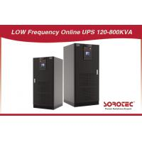 China 12p / 6p, 160KVA  Low Frequency Online 3 - Phase Uninterrupted Power Supply on sale