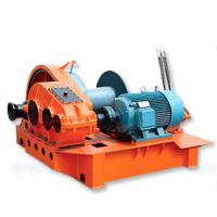 Manual Control Fast Speed Electric Wire Rope Winch ,  3 ~ 100kw 200 ~10000kgs Manufactures