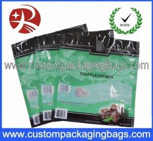 Buy cheap Repeatable Seal Window Plastic Food Packaging Bags / Chocolate Packaging Bags from wholesalers
