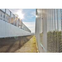 Anti Climb 358 security Wire Mesh Fence for airport And Powder Station Manufactures