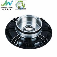 China Black Powder Coated Machined Aluminum Parts , Electric Motorbike Hub Alu Die Casting Cover on sale
