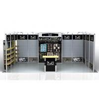 Custom 10x20 trade Show Exhibition Booth , Lightweight Tradeshow Booths Manufactures
