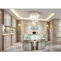 Elegant Stainless Steel Showroom Jewellery Display Counter 1325X550X950MM Manufactures