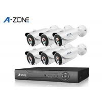Remote 6 Channel IP CCTV Camera Kits 2MP High Definition Security Camera System Manufactures