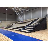 Travelling Retractable Seating System / Plywood Deck Movable Stadium Seating