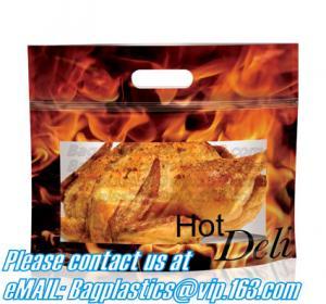 China Kraft-Paper-Roast-Chicken-Bag Roast Chicken Food Package Food Packing Bag Custom Food Packing,Hot Deli Bag Chicken Stand on sale