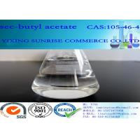 CAS 105-46-4 Sec Butyl Acetate Colorless Liquid With Fruit Fragrance Relative 99%