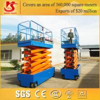 4 wheels battery power mobile work platform with Factory price Manufactures