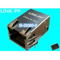 China SI-53030-F Ip67 Rj45 Connector LPJ1141AHNL Tab-Up 10 / 100M With LEDs IP-PBX on sale