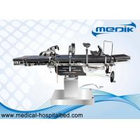 China Double Layer Multi Purpose Hydraulic Surgical Operating Table With Head Controlled wholesale