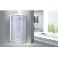 Cheap , Popular luxury shower cabin ,  Chrome Aluminium Quadrant Shower cabin Manufactures