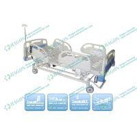 Comfortable ABS Head foot Board Electric Hospital Bed For Patients with 5 Functions Manufactures
