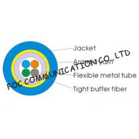 China Multicore Optical Fiber Cable Armored Flexible and Suitable For Long Distance on sale
