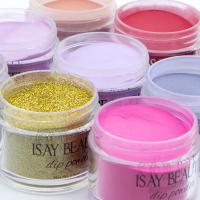 China clear acrylic dipping powder bulk wholesale dip powder nails private label mini clear dip powder on sale